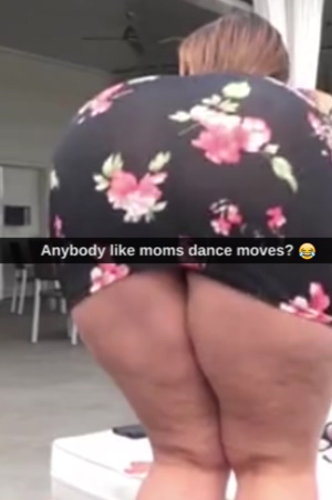 Moms dance moves