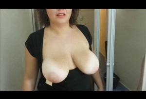 Sylvia Lush bouncing boobs