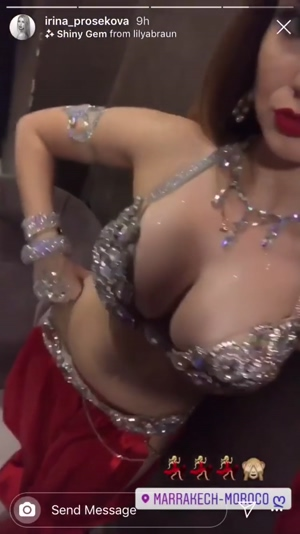 continuation of the post below sexy titted belly dancer