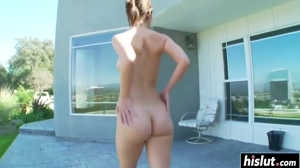 Walking Nude Ass