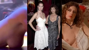 Mother/Daughter D-Cup comparison: Susan Sarandon vs. Eva Amurri