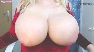 blonde big and bouncing