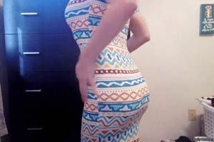 does this dress make my ass look fat?