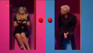 Holly Willoughby gunged on Celebrity Juice