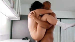 Hot big tits wife fuck a big black cock HD