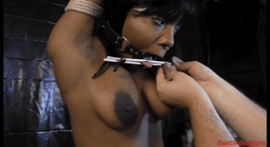 Ebony Tit Zipper