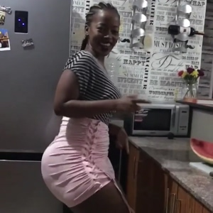 Rate the Body of this Super Thick Big Booty African Girl
