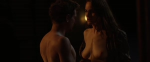 The stunning Michelle Dockery finally shows her boobs on screen