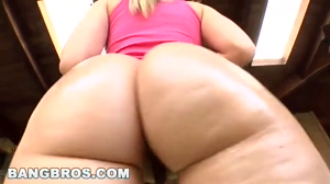 Shaking her booty