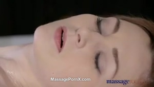 Massage Rooms Beautiful Pale Skinned Mom Squirts