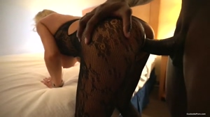 Amateur Hotwife Shared With Another Black Bull