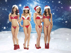 Lucy Pinder, Rosie Jones, Holly Peers and India Reynolds
