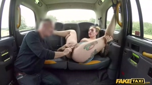 Fake Taxi Ava Austin releases her British hairy bush