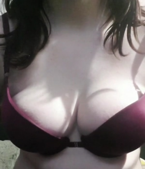 Titty reveal