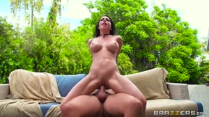 Jessica takes a huge cock