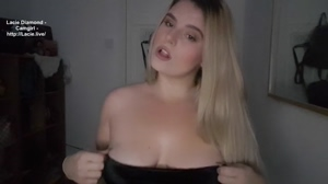 Busty Blonde American Available For