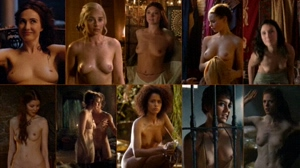 Girls of Game of Thrones montage