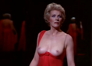 Julie Andrews rips off her dress to add a classic plot