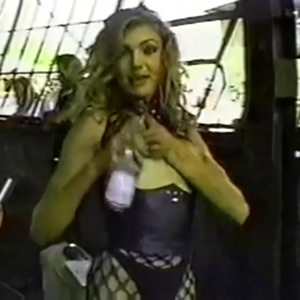 Cameron Diaz behind the scenes of a softcore BDSM porn film she made