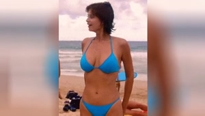 Catherine Bell from JAG was something else