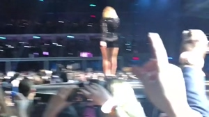 Taylor Swift from behind