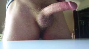 quick reveal of my big cock