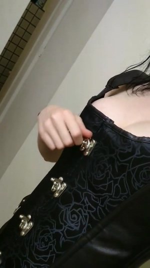 Busting out of my corset :)