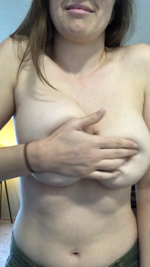 My tits are just so fun to play with