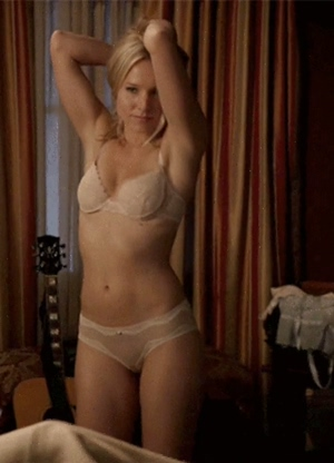 Let's give Kristen Bell both of our cocks
