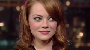 Emma Stone when you ask to put it in her ass