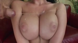 Covering Her Tits