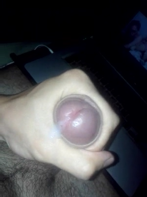 Huge cum load from my big fat cock.