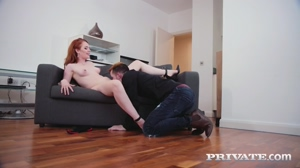 Ella Hughes - Ginger babe with big nipples gets fucked