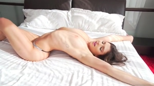 Stretch on the bed