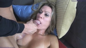 cum explosion in milfs mouth