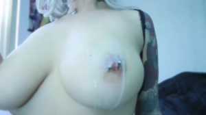 Pouring Hot Candle Wax on her Perfect Tits