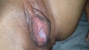 Asian Sunshine creampied and sucking another cock