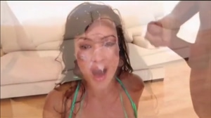 Lisa Ann gets drenched