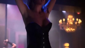 Eva Amurri shows her 32D tits during a stiptease