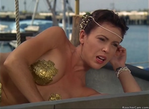 I would happily cum in mermaid Alyssa Milano while holding her breasts.
