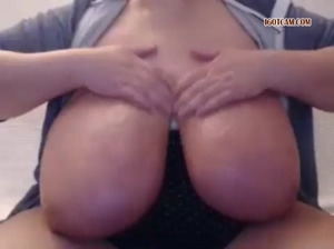 huge tits job