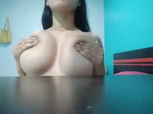 Playing around with my big boobs!