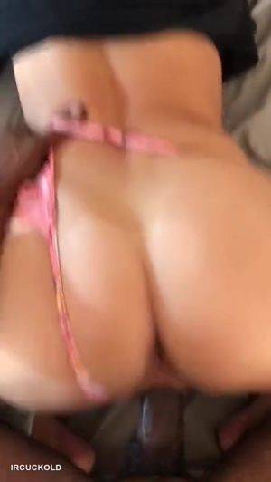 Creamy Pussy Takes Black Cock