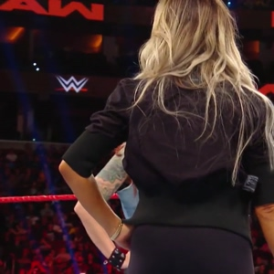 Trish Stratus ass tight on GOAT