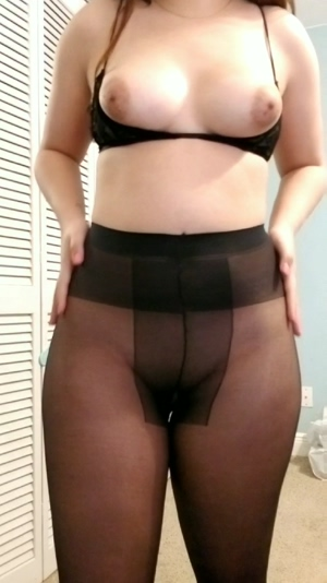 Sheer tights as requested 😘