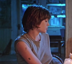 A 21 Year Ancient Angelina Jolie Uncovering Her Culminate Breasts In 'foxfire'