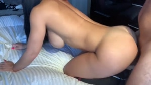 Homemade Porn - Hot Big Ass an Big Tits Babe Creampied in Doggystyle