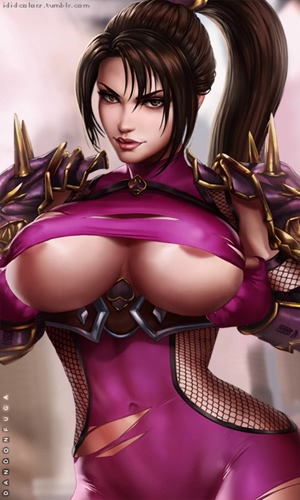 Taki shows you her tits