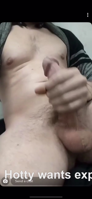 Hotty wants his cock exposed
