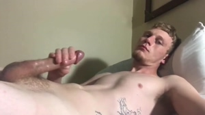 8-inch cock stroking